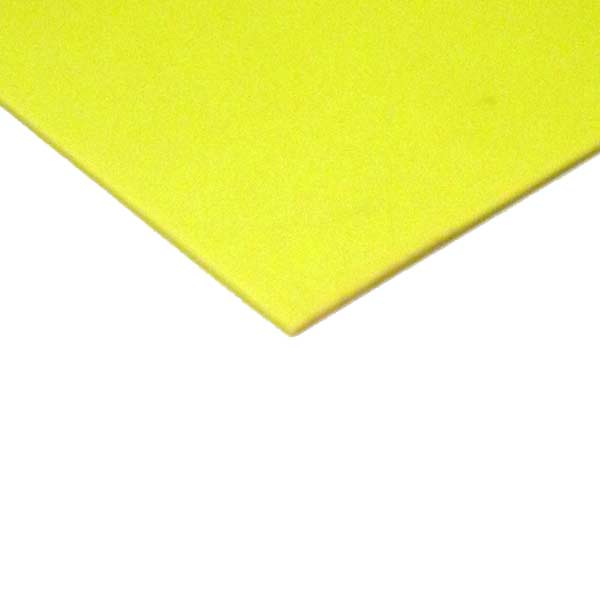 4001 Grade FLUORESCENT YELLOW PTEX base material (per meter) - Click Image to Close
