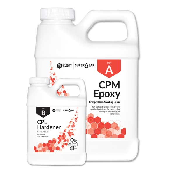 Entropy Super Sap CPM High Temp Epoxy (3 quart kit)