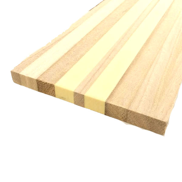 Core blank, laminated paulownia/foam (15 mm x 150 mm x 1800 mm)